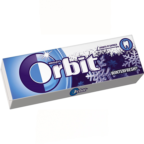 "Заказать ""Orbit"" Winterfresh с доставкой на дом"